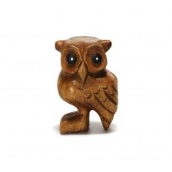 Dřevěná houkající sova