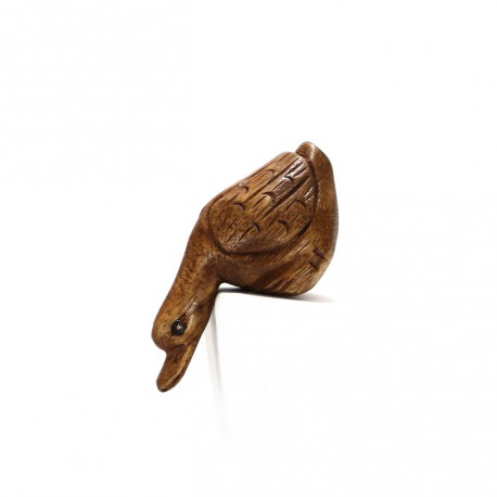 Dřevěná houkací kachna