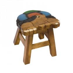 Dětská stolička - barevná želva