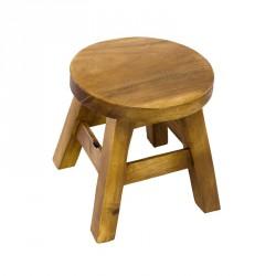 Dřevěná dětská stolička - bez obrázku
