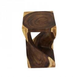 Dřevěná taburetka twister