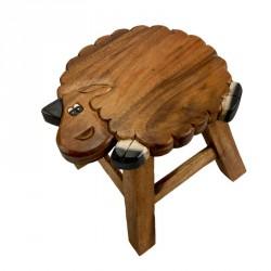 Dřevěná dětská stolička - OVEČKA