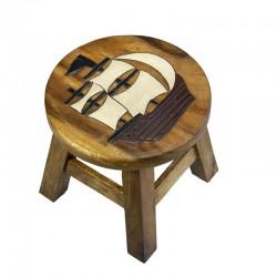 Dřevěná dětská stolička - PLACHETNICE