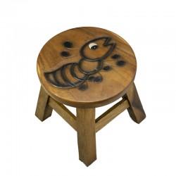 Dřevěná dětská stolička - MRAVENEC