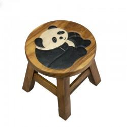 Dřevěná dětská stolička - PANDA
