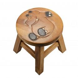 Dřevěná dětská stolička - HROCH POHODÁŘ