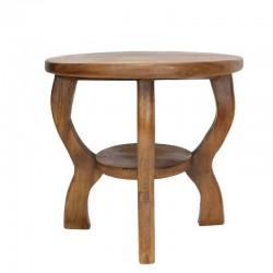 Dřevěný stolek - SPÍCÍ KOČKA